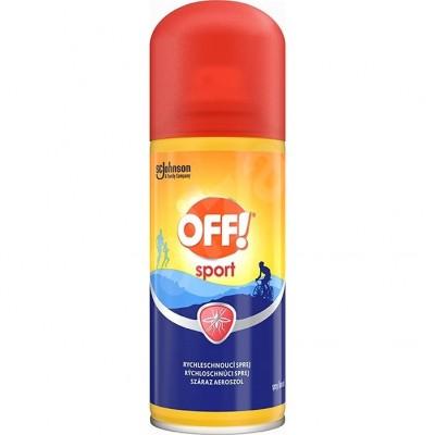 OFF Sport Dry 100ml sprejRepelent 316801 rychlesch