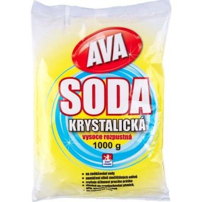 Soda 1kg krystal.Hlubnabal.10