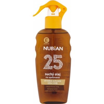 NUBIAN suchy olej F25 200opal.olej sprej