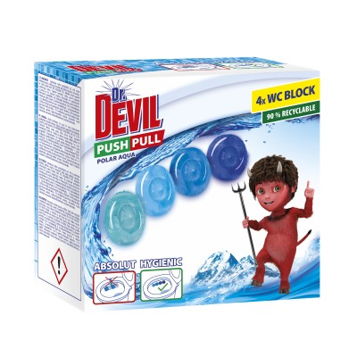 Dr.Devil Push 4x20g Polarbal.5  pull gel