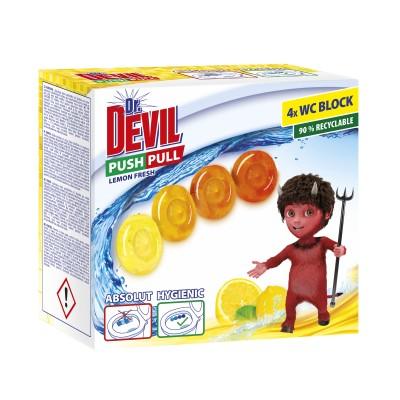 Dr.Devil Push 4x20g Lemonbal.5  pull gel