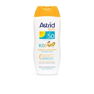 Astrid SUN F50 Kids mleko200ml na opalovani
